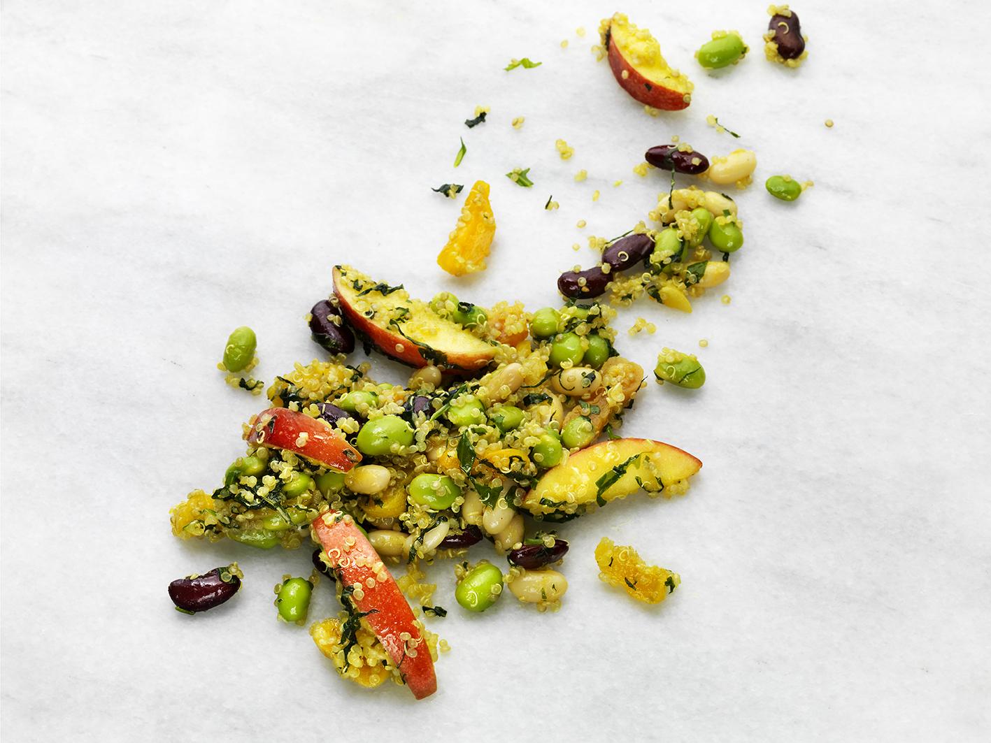 3-bönsallad med quinoa